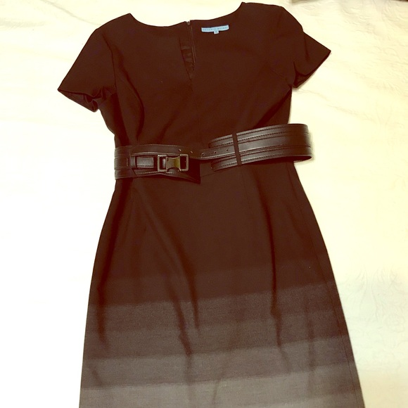 ANTONIO MELANI Dresses & Skirts - Antonio Melani dress black  gray ombré size 10